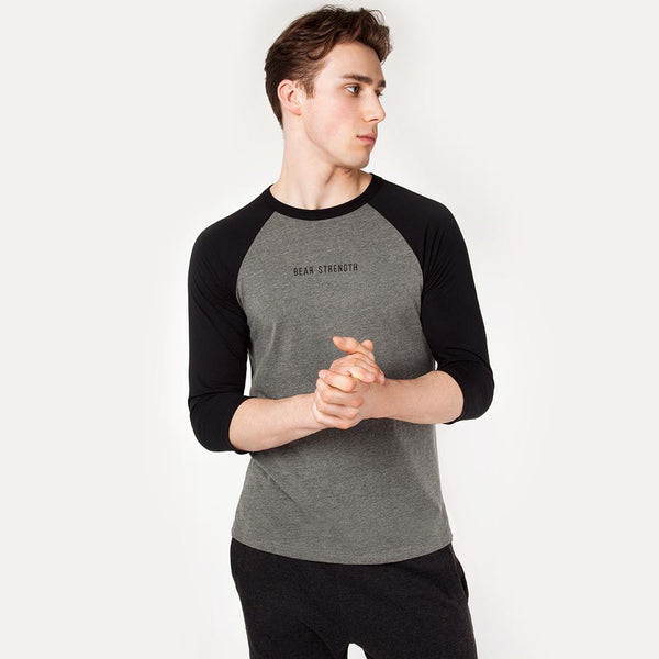 OG | Men's Raglan Training Top | Black/Heather