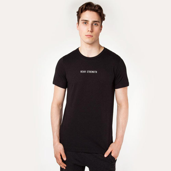 OG | Men's Short Sleeve Training T-shirt | Heather Black