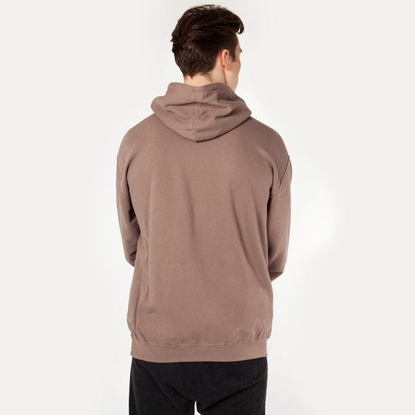 Icon | Men's Pull Over Training Hoodie | Mocha Wash
