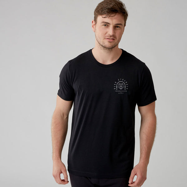 Training Division | Men's Short Sleeve Training T-shirt | Black
