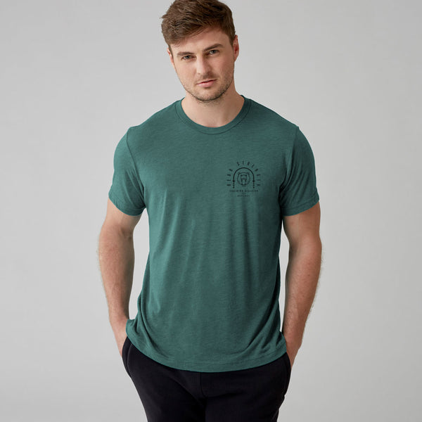 Training Division | Men's Short Sleeve Training T-shirt | Green