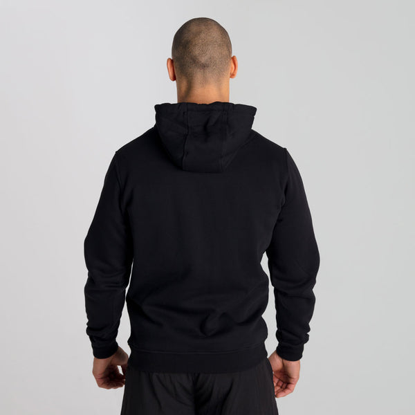 Icon | Men's Pull Over Training Hoodie | Black