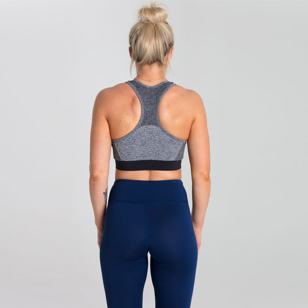 Icon Engage | Women's Sports Bra | Marl Grey