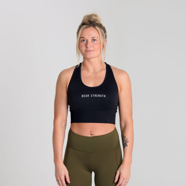 Icon Energy | Women's Sports Bra | Black