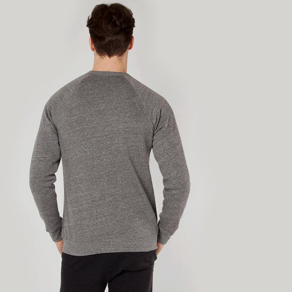 Icon | Men's Long Sleeve Training Sweatshirt | Heather Grey