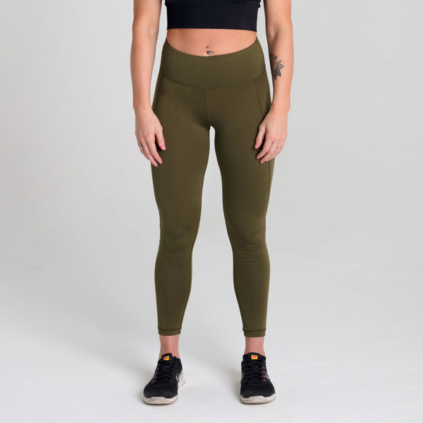 Icon | Women's Training Leggings | Olive