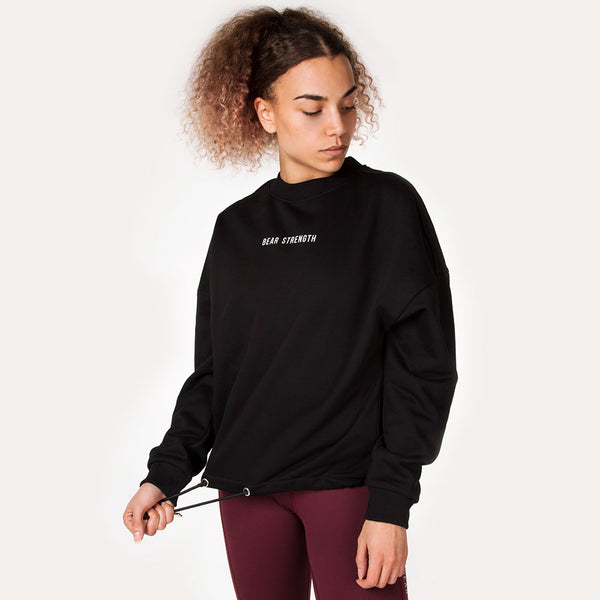 Icon | Women's Long Sleeve Training Sweatshirt | Black
