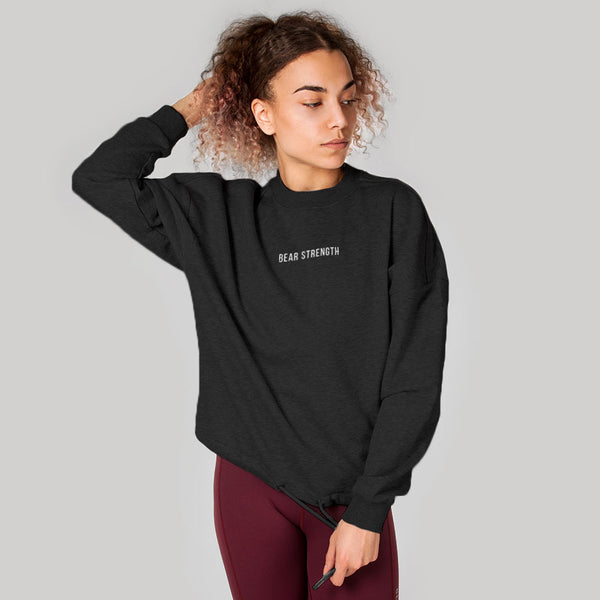 Icon | Women's Long Sleeve Training Sweatshirt | Charcoal