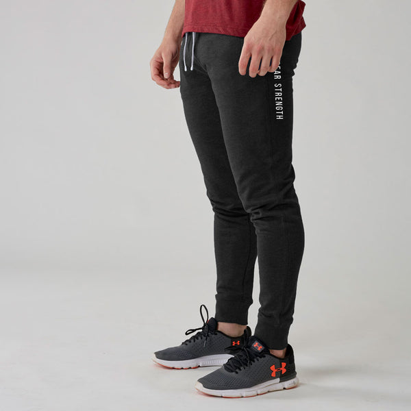 Icon | Men's Training Trousers | Marl Black