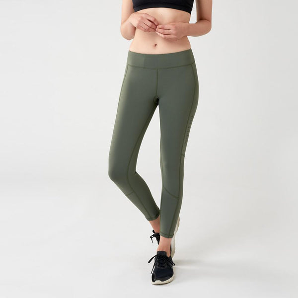 Strike | Women's Training Leggings | Khaki