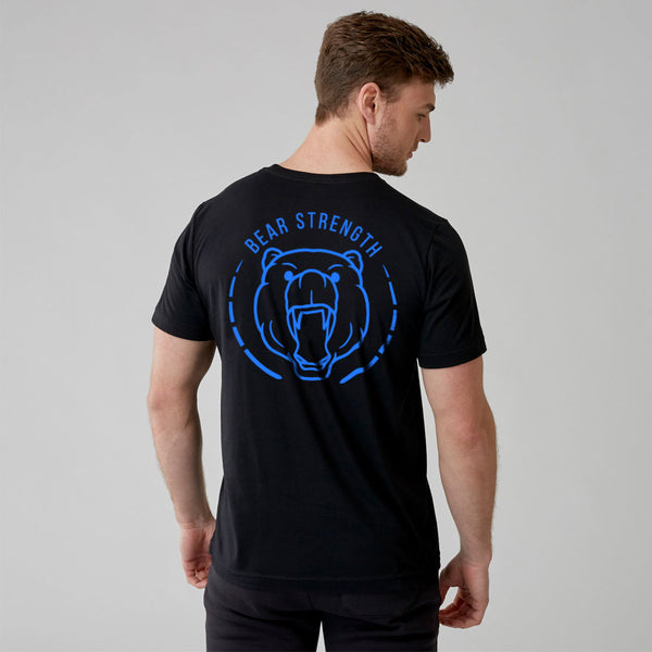 OG | Men's Short Sleeve Training T-shirt | Black Blue