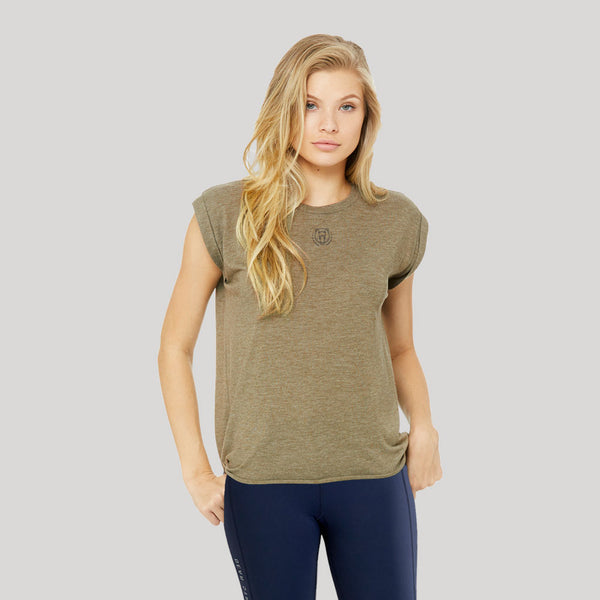 Origins | Women's Short Sleeve Training T-shirts | Olive