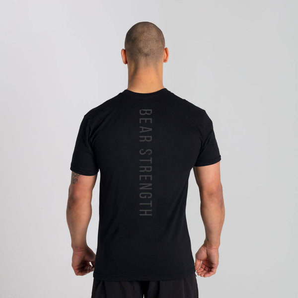 Origins | Men's Short Sleeve Training T-shirt | Black