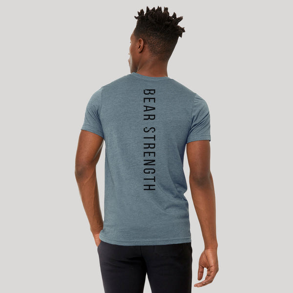 Origins | Men's Short Sleeve Training T-shirts | Heather Slate