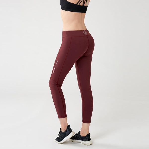 Strike | Women's Training Leggings | Plum