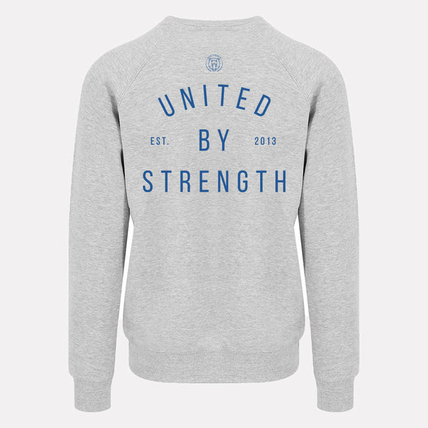 United by Strength | Mens Training Sweatshirt | Heather