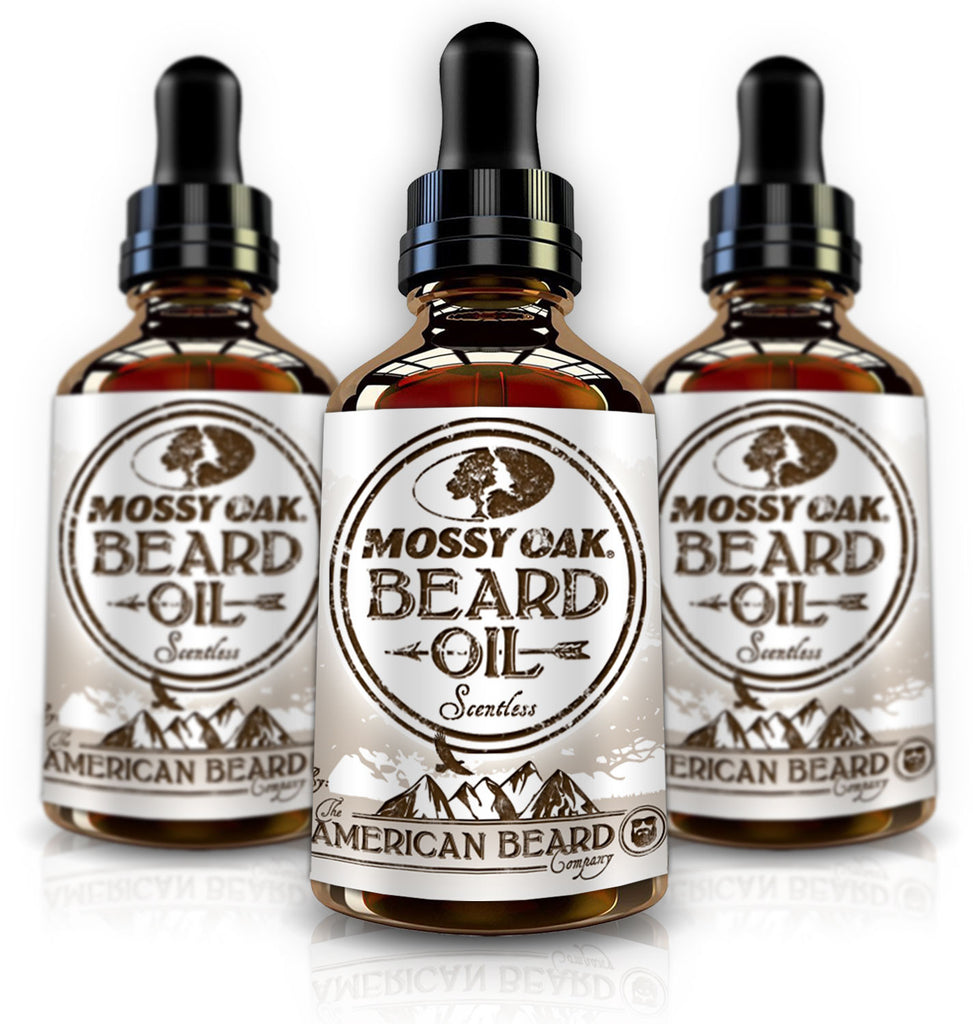 Mossy Oak Unscented Beard Oil for Men