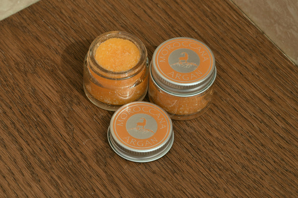 Orange Blossom Lip Scrub 15ml - Moroccana