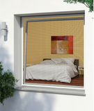 Framed Window Flyscreen 130x150cm, White (Value)