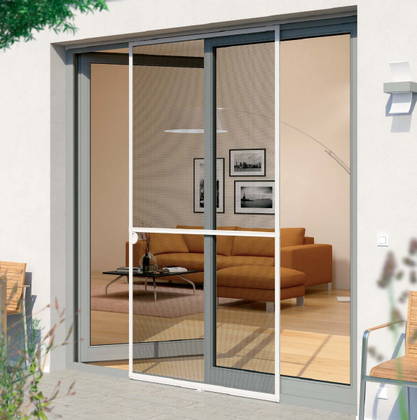 Buy sliding flyscreen door best quality buzzstop for Flyscreens for french doors