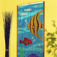 Chain Link | Door | 90x210cm | Fish Pattern
