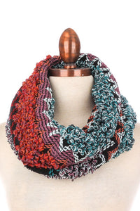 Knit Infinity Scarf | Outerwear