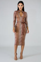 Load image into Gallery viewer, Snakeskin Dress