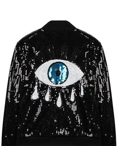 Eye Sequin Jacket Sale