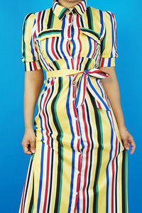 Marley Stripped Maxi Dress | Sale