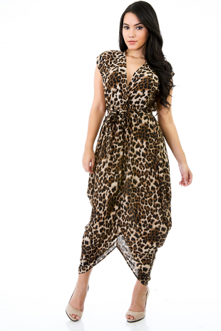Shelby Leopard Dress | Dress