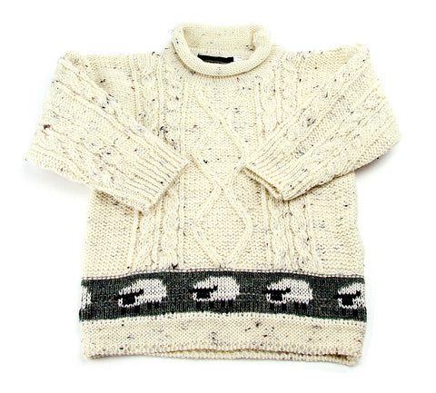 Children's Aran Sheep Sweater