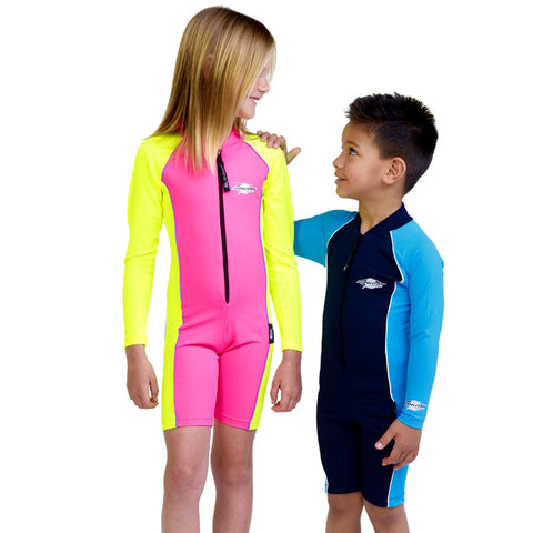 Sun Protection Suit, Shortie Long Sleeves- UPF 50+(2-8y)