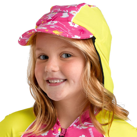 Kid's Hawaii Sun Protection Cap UPF50+(2-8y)