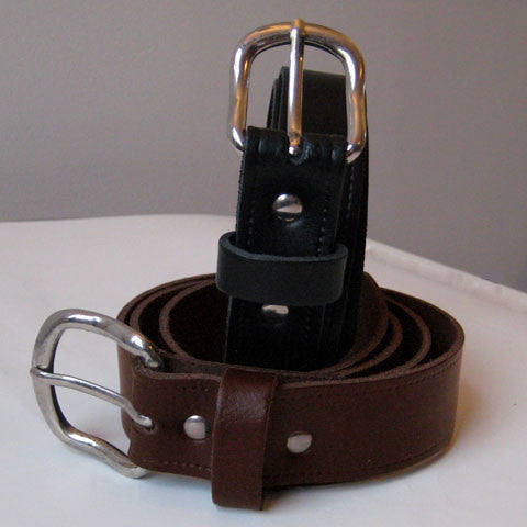 Leather Belt , Wide