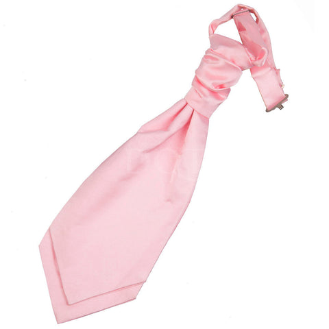 Boys Plain Cravat -  Baby Pink