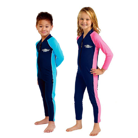 Kid's Stinger Suit, Long Sleeves, Long Leg's- UPF 50+ 2-8y