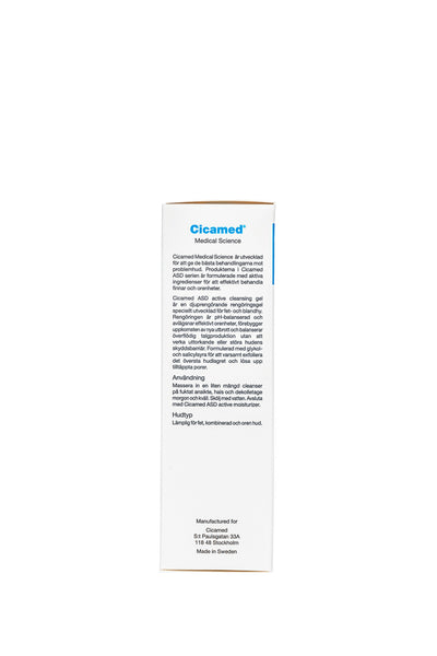 cicamed organic science medical cleanser for acne