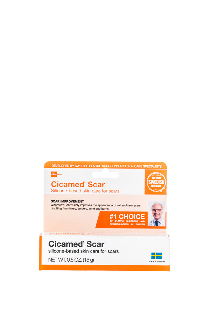 Cicamed Scar Removal and Correcting Gel with Silicone for Face and Body