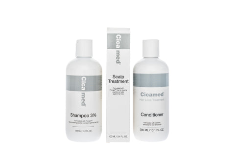 Hair Loss Treatment Set - Shampoo, Conditioner, and Scalp Spray