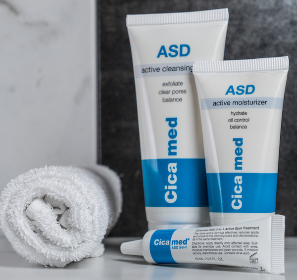 ASD Active Cleansing Gel Blemish Treatment
