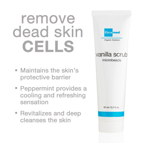 Vanilla Scrub Exfoliator for Face and Body