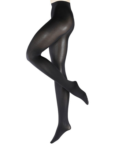 Falke-black-opaque-tights