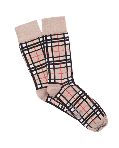 Corgi-Camel-Thompson-tartan-socks- for men
