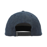 Distressed Denim 3D Embroidered Snapback