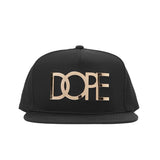 Large Gold Logo Snapback