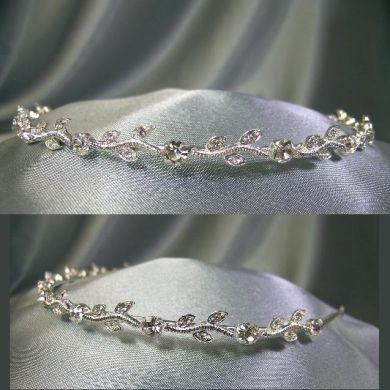 Headband style Tiara For Bridal, Veil, Wedding Gown, CrownDesigners