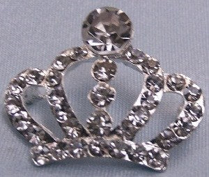 Princess Tamara Rhinestone crown Pin, CrownDesigners