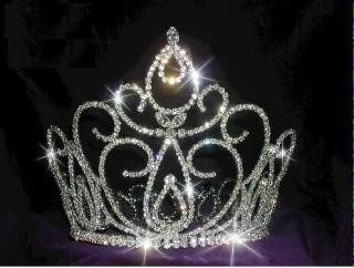 Estephany full rhinestone Crown, CrownDesigners