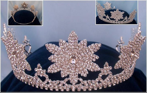 Adjustable silver STARRY NIGHT TIARA, CrownDesigners