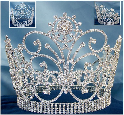 Beauty Pageant Rhinestone Butterfly Crown - CrownDesigners